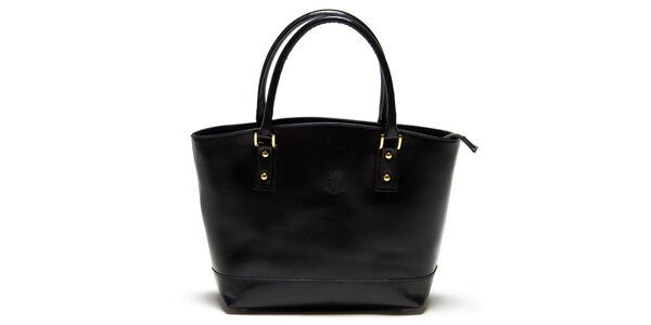 Dámska čierna kabelka Carla Ferreri