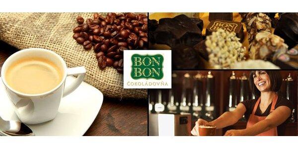 1,44 Eur za Kávu Filicori Zecchini a dve čokoládové pralinky so zľavou 55%!