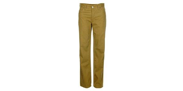 Pánske svetlo hnedé džínsy Bushman