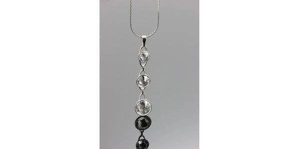 Dámsky náhrdelník s príveskom s kryštálmi Swarovski