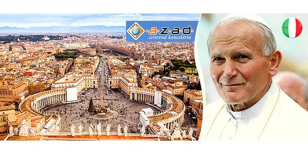Svätá omša so Sv. Otcom vo Vatikáne