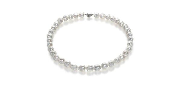 Náhrdelník Orchira s bielymi perlami