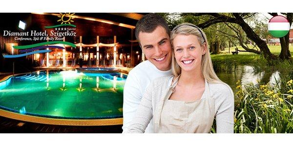 Luxusný wellness pobyt pri BA v hoteli DIAMANT**** Superior