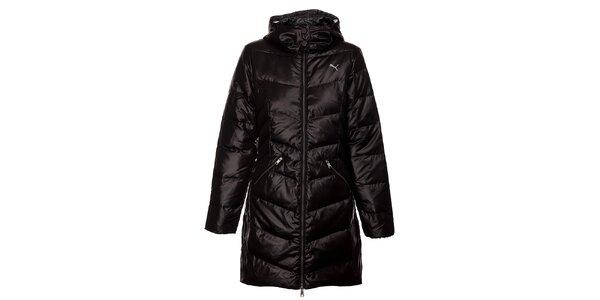 Dámsky čierny páperový kabát Puma