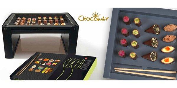 Čokoládové Sushi od Chocoway