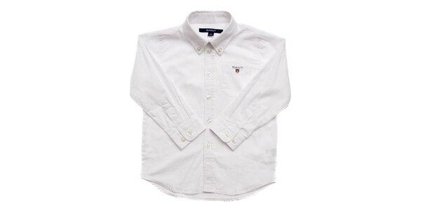 Detská biela košeľa Gant