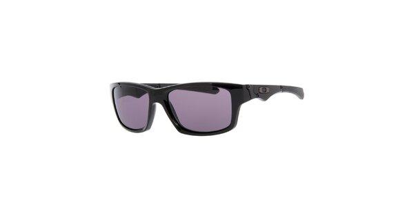 Čierne slnečné okuliare s ozdobnými rámami Oakley