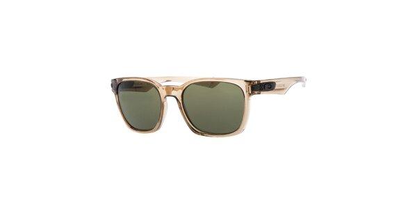 Svetlo hnedé transparentné slnečné okuliare Oakley
