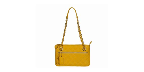 Dámska žltá kabelka s dlhými ušami POON Bags