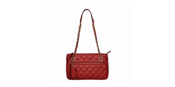 Dámska červená kabelka s dlhými ušami POON Bags