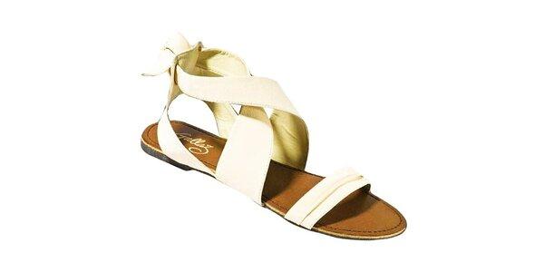 Dámske béžové sandálky Gallaz
