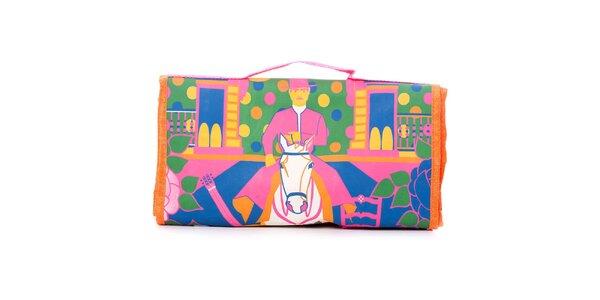 Dámska farebná nákupná taška Rosalita McGee