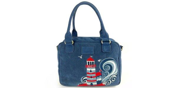 Dámska modrá kabelka s majákom Rosalita McGee