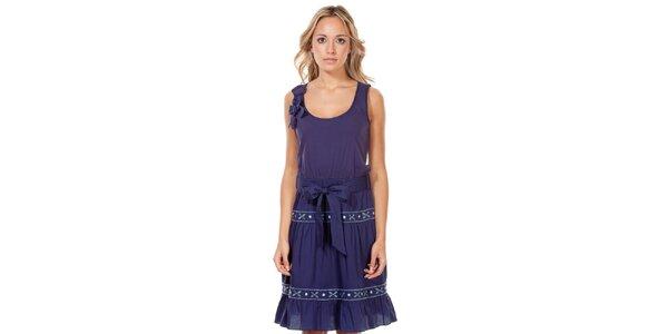 Dámske tmavo modré šaty Rosalita McGee