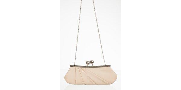 Smotanová elegantná kabelka