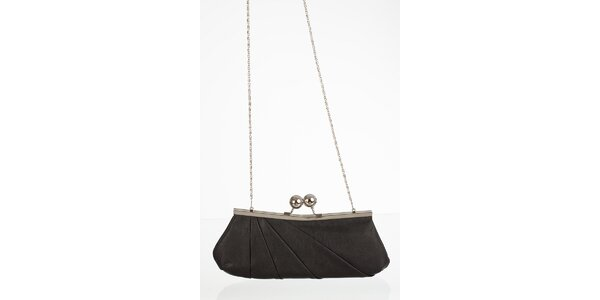 Čierna elegantná kabelka