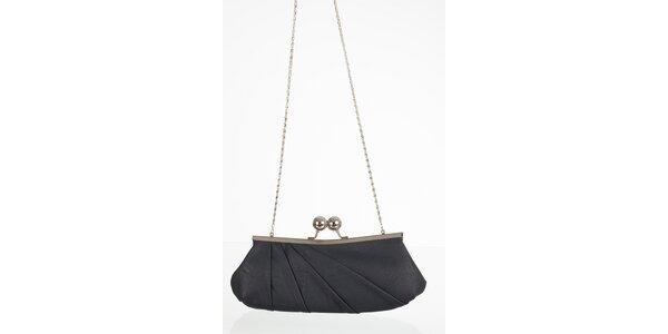Antracitovo šedá elegantná kabelka