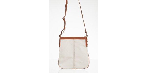 Biela obdĺžniková kabelka