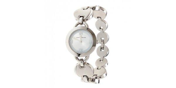 Dámske oceľové hodinky Tom Tailor s modrým ciferníkom