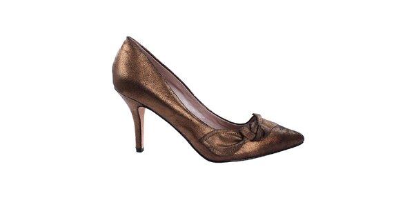 Dámske bronzové lodičky DKNY