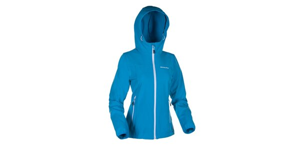 Dámska modrá softshellová bunda Envy
