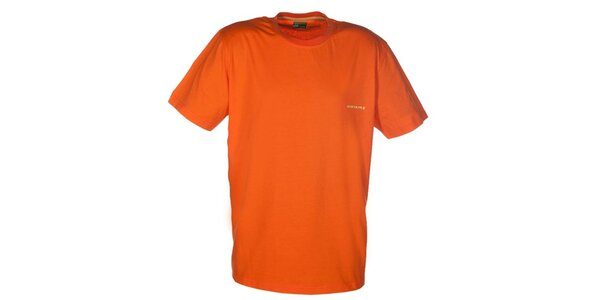 Pánske oranžové tričko Envy