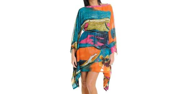 Dámske farebné šaty Goa Goa