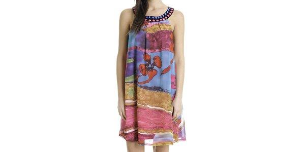 Dámske pestrofarebné šaty Goa Goa