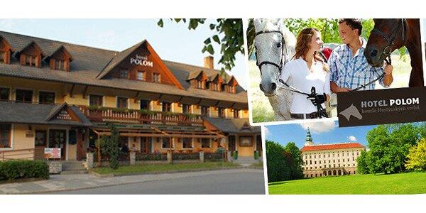 3 dni na Morave pre dvoch. Turistika, kone aj dobré jedlo