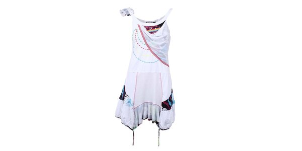 Dámske biele cípové šaty Dislay DY Design