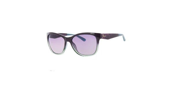 Dámske fialovo-zelené slnečné okuliare Guess