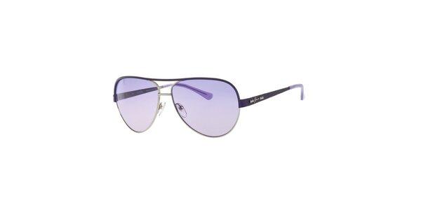 Dámske slnečné okuliare s fialovými sklami Guess