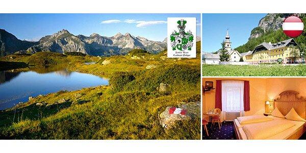 Turistika a relax pre dvoch v rakúskych Alpách