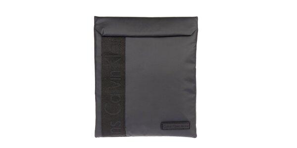 Šedočierny obal na tablet Calvin Klein Jeans