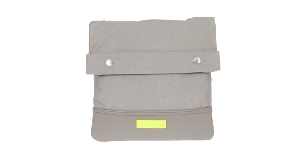 Pánska šedá taška cez rameno s neónovým detailom Calvin Klein Jeans