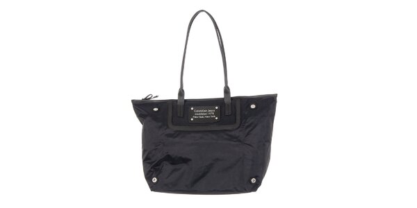 Dámska čierna nákupná taška Calvin Klein Jeans