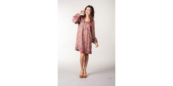 Ružovo-zelené šaty CurioCity