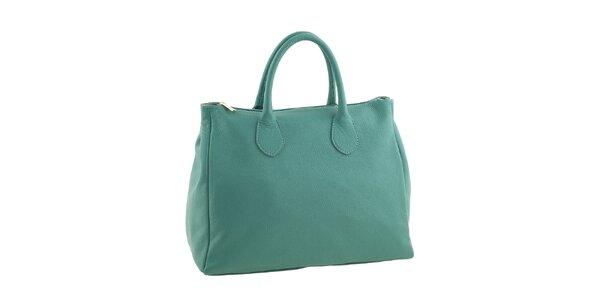 Dámska smaragdová kabelka Valentina Italy