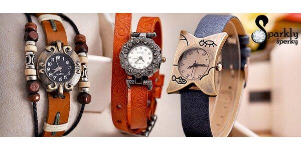 Nové modely dámskych retro hodiniek