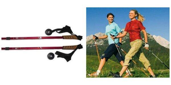 Trekingové palice Nordic Walking, poštovné v cene