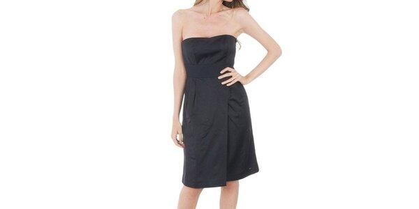 Dámske čierne šaty Tommy Hilfiger