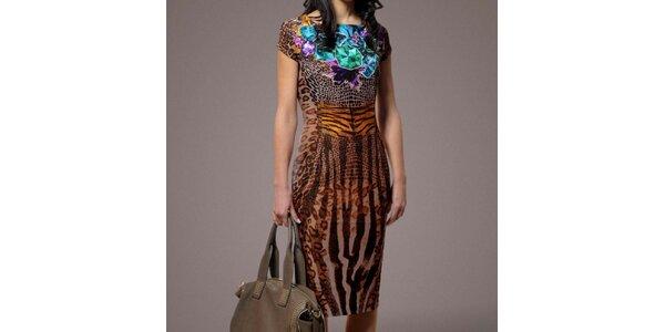 Dámske šaty so zvieracím motívom Patricia Rado