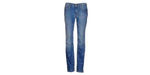 Bledo-modré džínsy Tommy Hilfiger