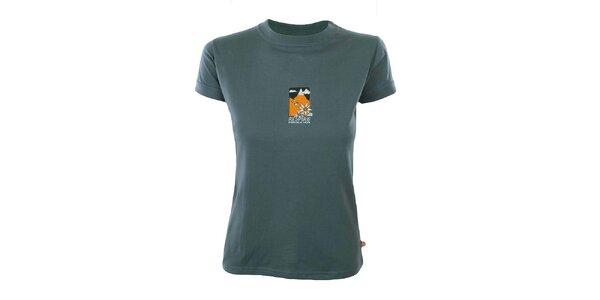 Dámske tričko s horským motívom Respiro