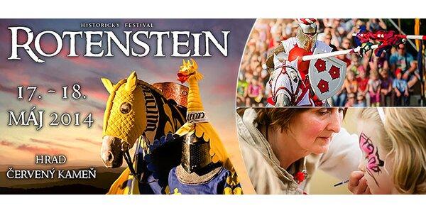Historický festival Rotenstein na Červenom kameni