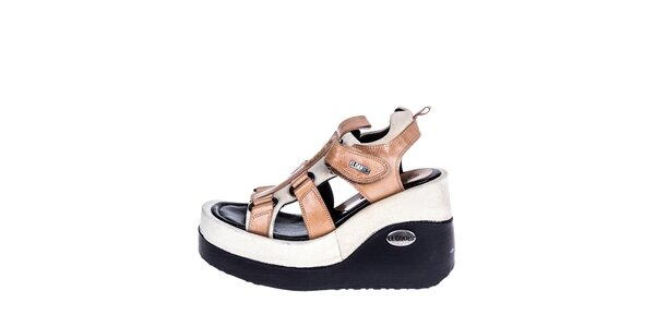 Dámske sandále na kline El Dantes