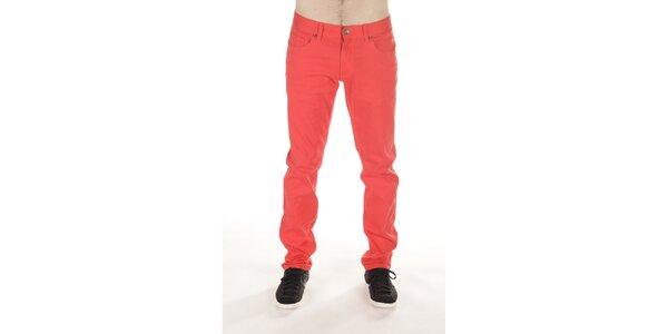 Pánske červené nohavice SixValves