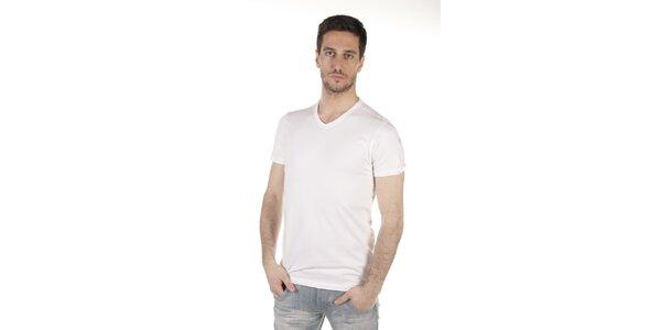 Pánske biele tričko SixValves