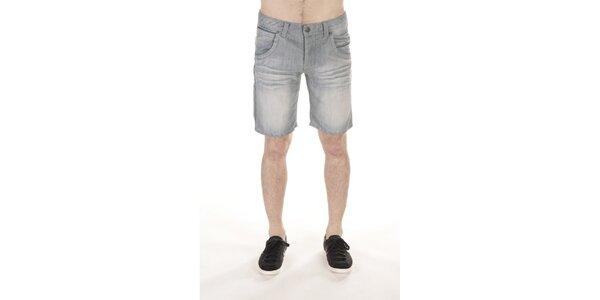 Pánske šisované džínsové kraťasy SixValves