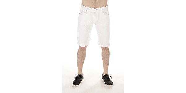 Pánske biele šortky SixValves
